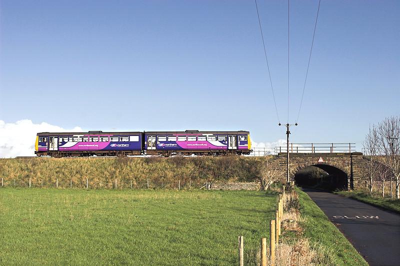 142053 Burscough 1/11/2011<br /> 2F71 0946 Manchester Victoria-Southport