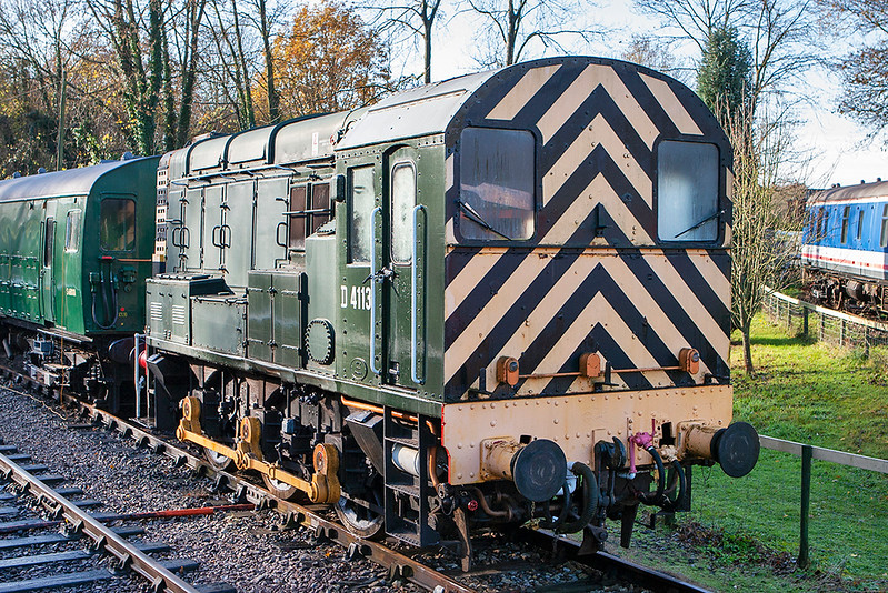 D4113 (09025), Shepherds Well 2/12/2011