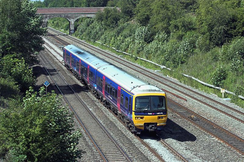 166202 Ruscombe 3/6/2011<br /> 1K45 0936 Bedwyn-London Paddington