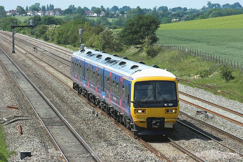 166201 Cholsey 3/6/2011<br /> 1P51 1431 Oxford-London Paddington