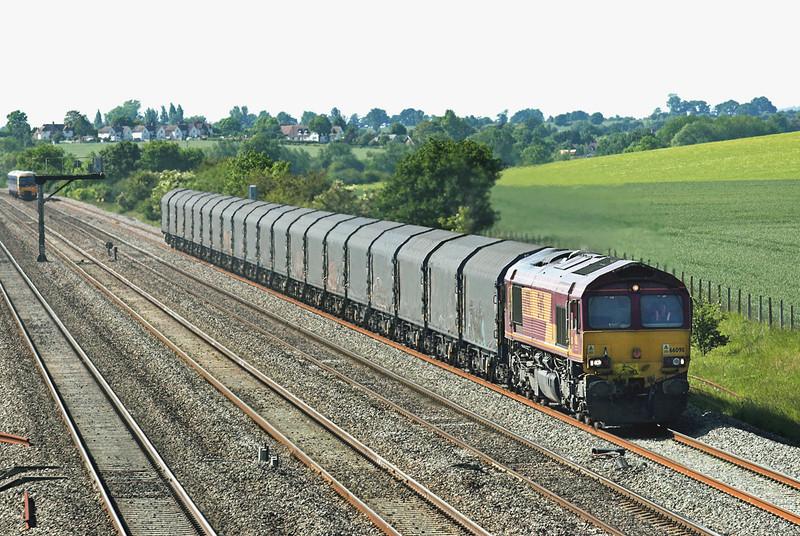 66098 Cholsey 3/6/2011<br /> 6O32 1243 Llanwern-Dollands Moor