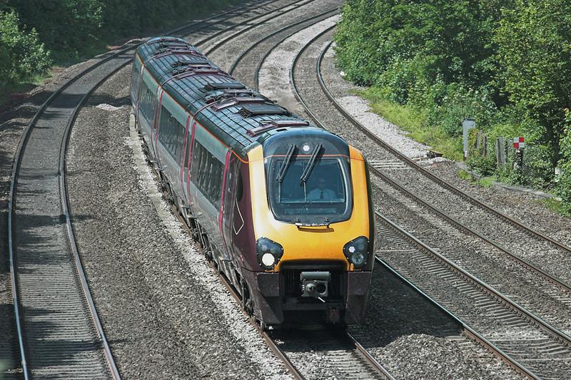 220022 Tilehurst 3/6/2011<br /> 1O14 1027 Manchester Piccadilly-Bournemouth