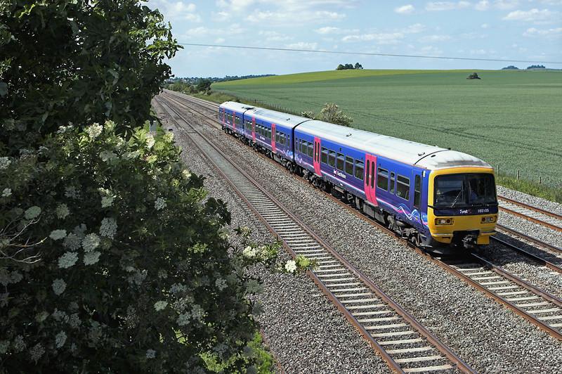 165105 Cholsey 3/6/2011<br /> 1P53 1501 Oxford-London Paddington