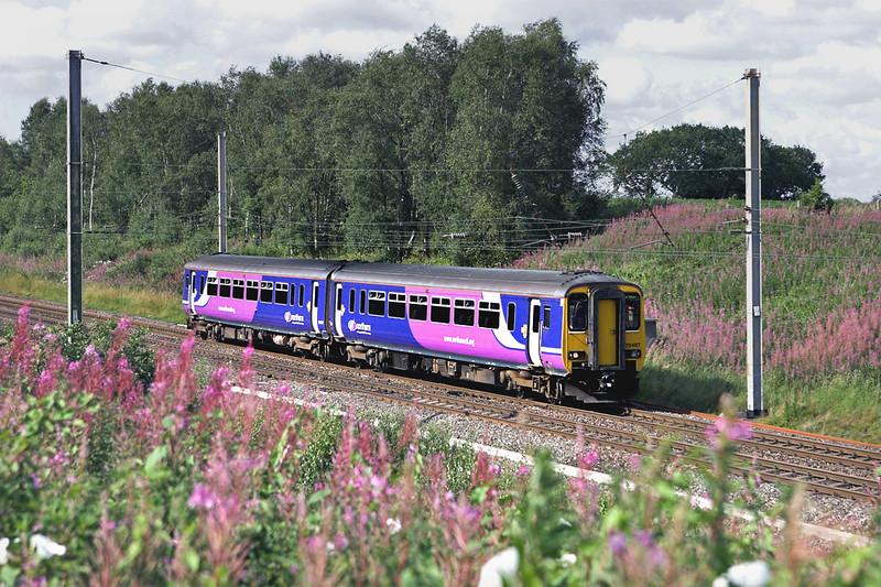 156487 Standish 5/8/2011<br /> 5J89 1628 Preston-Manchester Victoria