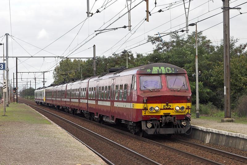 822 and 773, Eppegem 5/10/2011<br /> IR2836 1425 Antwerpen Centraal-Nivelles