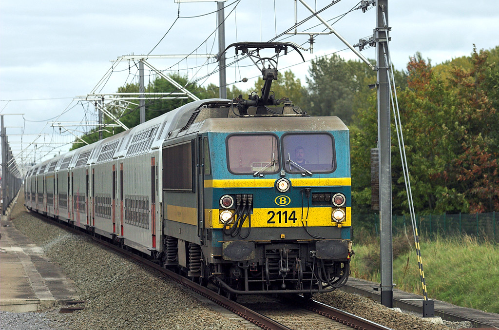 2114 Erps-Kwerps 5/10/2011<br /> IC8514 1711 Leuven-Mouscron