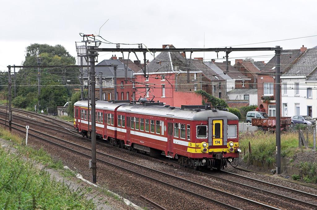 174 Braine-Le-Comte 5/10/2011<br /> IC3663 1311 Braine Le Comte-Leuven