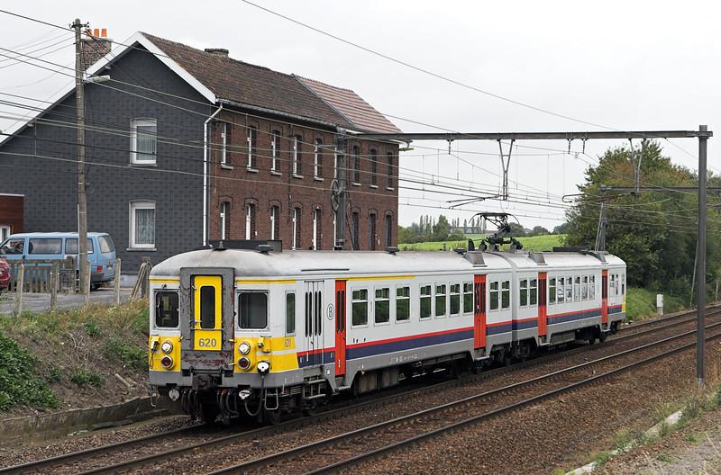 620 Braine-Le-Comte 5/10/2011<br /> IC3781 1153 Leuven-Braine Le Comte
