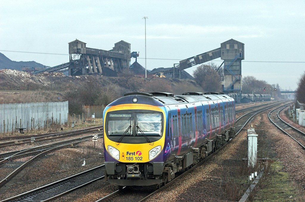 185102 Hatfield and Stainforth 6/1/2011<br /> 1B79 1228 Cleethorpes-Manchester Airport