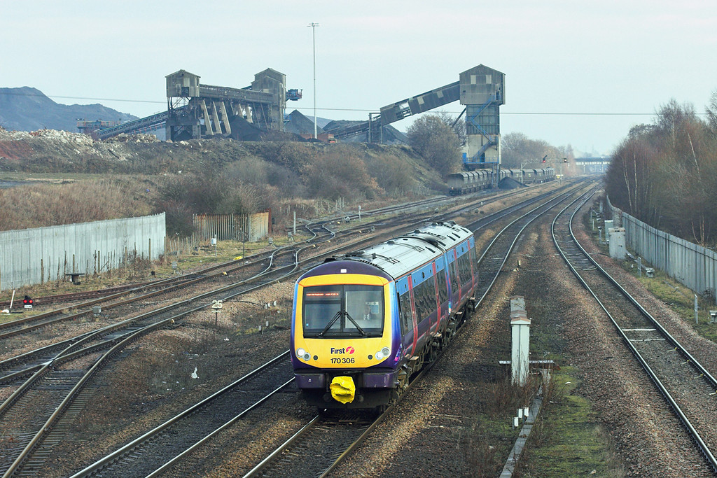 170306 Hatfield and Stainforth 6/1/2011<br /> 1B77 1128 Cleethorpes-Manchester Airport