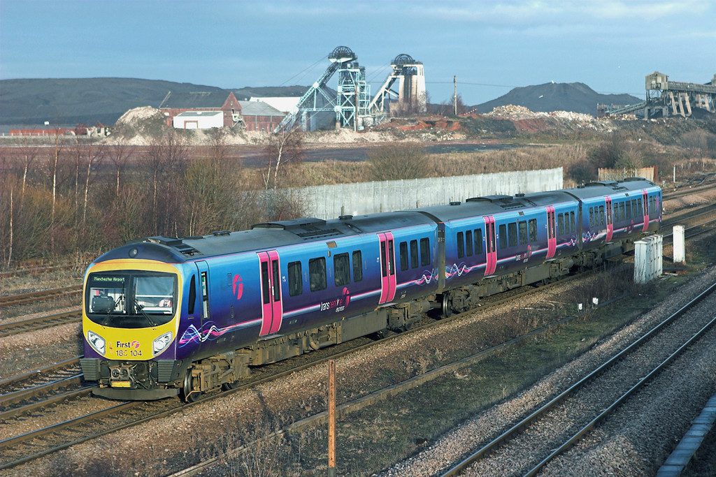 185104 Hatfield and Stainforth 6/1/2011<br /> 1B81 1328 Cleethorpes-Manchester Airport