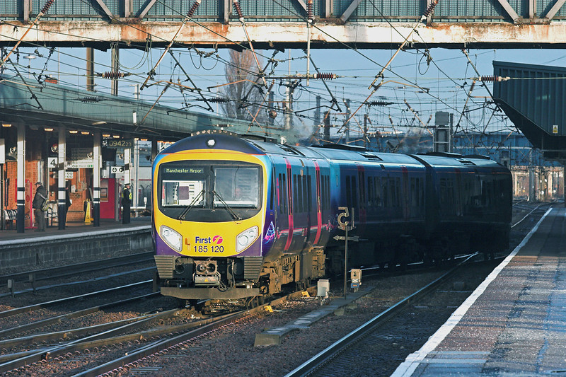 185120 Doncaster 6/1/2011<br /> 1B71 0828 Cleethorpes-Manchester Airport