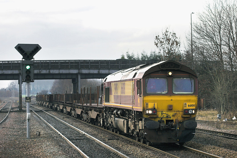 66108 Hatfield and Stainforth 6/1/2011<br /> 6G37 0927 Tees Yard-Scunthorpe Reception Sidings