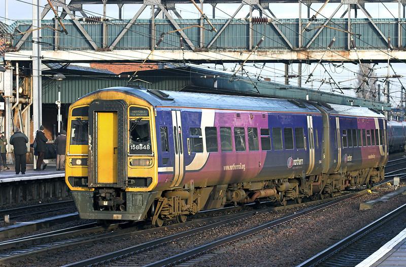 158848 Doncaster 6/1/2011<br /> 1J23 0808 Bridlington-Sheffield