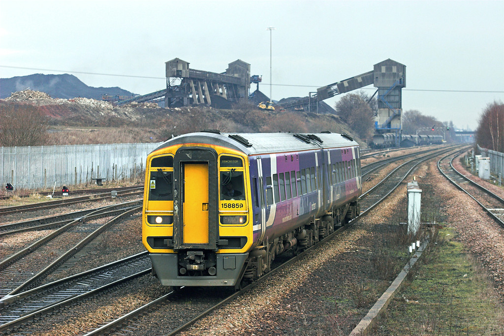 158859 Hatfield and Stainforth 6/1/2011<br /> 2C49 1222 Hull-Doncaster