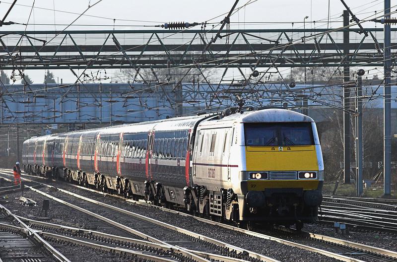 91127 Doncaster 6/1/2011<br /> 1D24 0810 London Kings Cross-Leeds