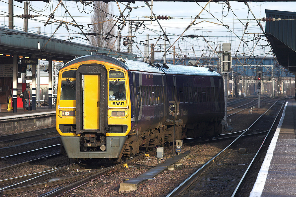 158817 Doncaster 6/1/2011<br /> 1J24 0905 Bridlington-Sheffield
