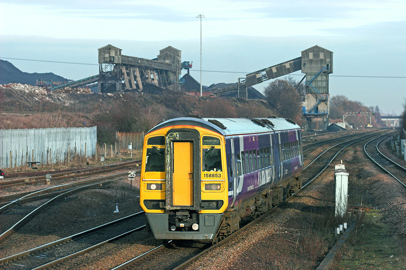 158853 Hatfield and Stainforth 6/1/2011<br /> 2C55 1325 Hull-Doncaster
