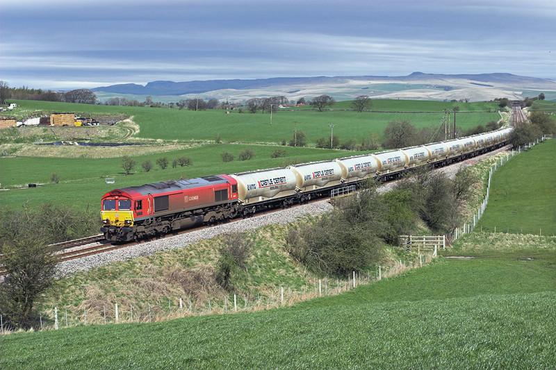 66152 Middle Breaks 6/4/2011<br /> 4M00 0705 Mossend-Clitheroe
