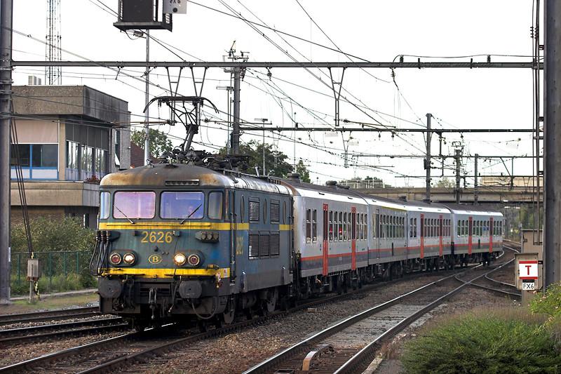 2626 Aarschot 6/10/2011<br /> IC8281 1706 Antwerpen Noorderdokken-Aarschot