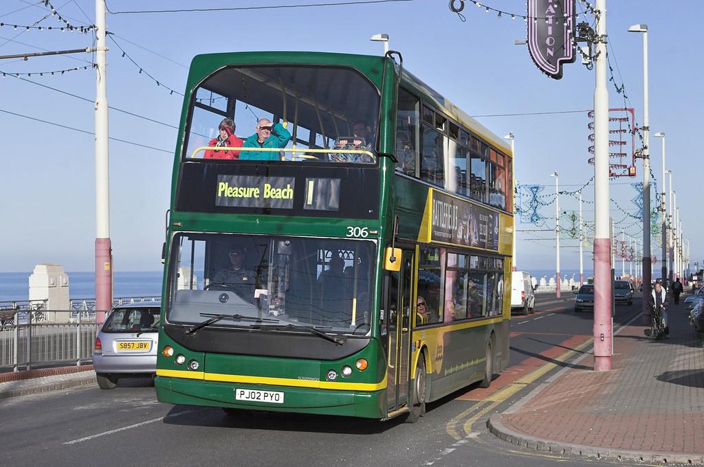 306 PJ02PYO, Blackpool 6/11/2011