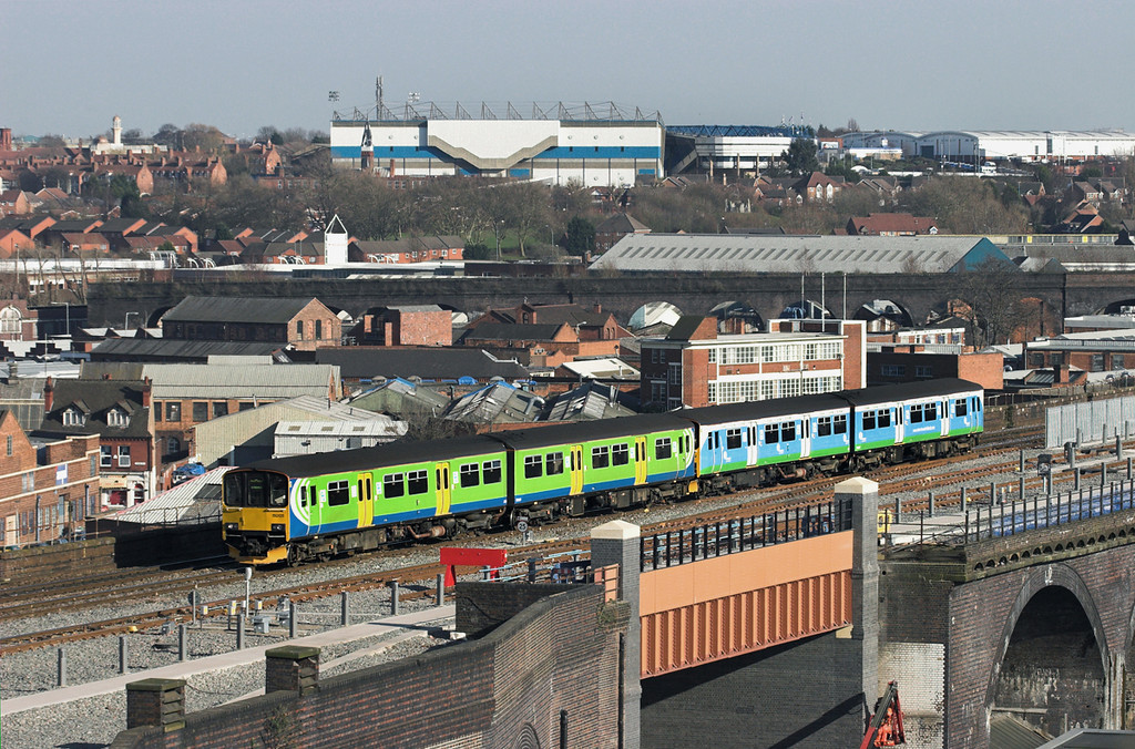 150125 and 150132, Birmingham Moor Street 7/3/2011<br /> 2V36 1446 Dorridge-Worcester Shrub Hill