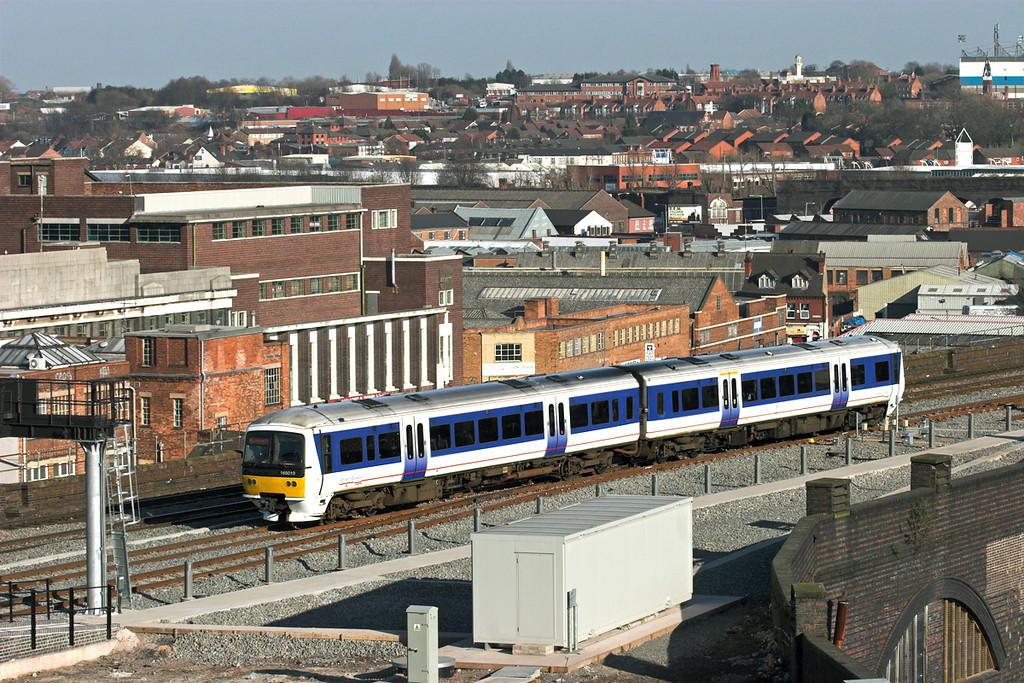 165010 Birmingham Moor Street 7/3/2011<br /> 1L50 1533 Birmingham Moor Street-Leamington Spa
