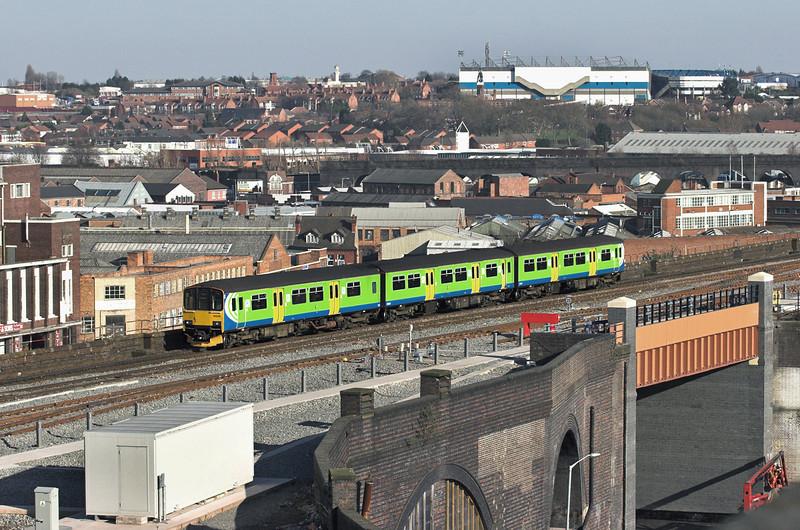 150019 Birmingham Moor Street 7/3/2011<br /> 2S54 1455 Stourbridge Junction-Stratford upon Avon
