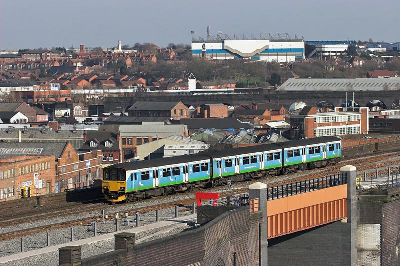 150003 Birmingham Moor Street 7/3/2011<br /> 2K45 1509 Dorridge-Kidderminster