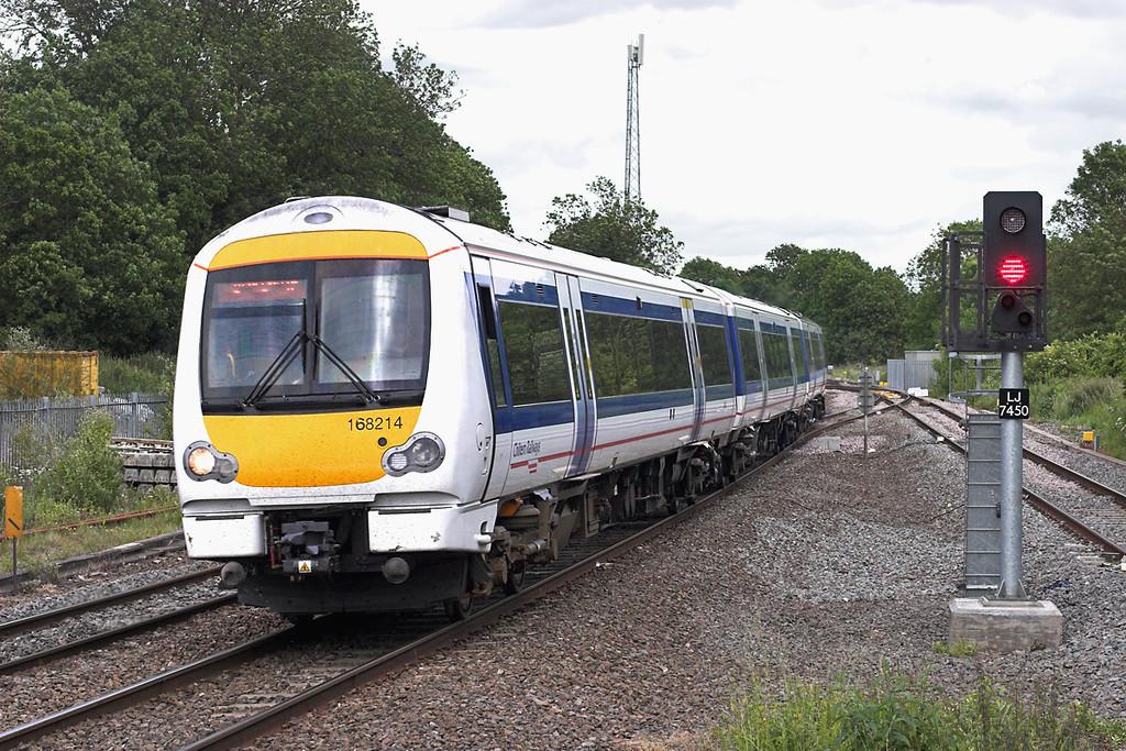 168214 Hatton 7/6/2011<br /> 1G38 1420 London Marylebone-Birmingham Snow Hill