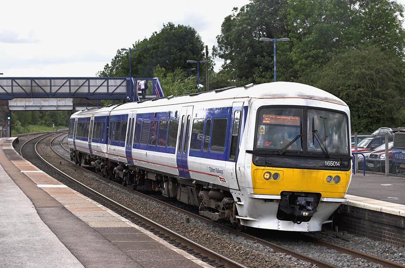 165014 Hatton 7/6/2011<br /> 1H55 1612 Birmingham Snow Hill-London Marylebone