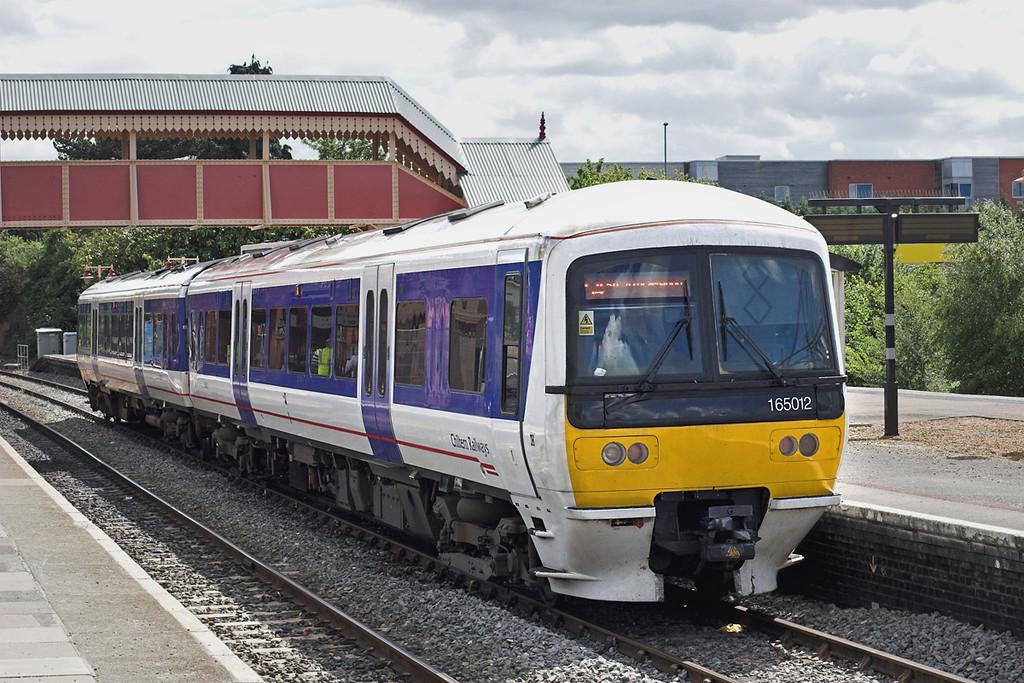 165012 Stratford-upon-Avon 7/6/2011<br /> 1H52 1537 Stratford upon Avon-London Marylebone