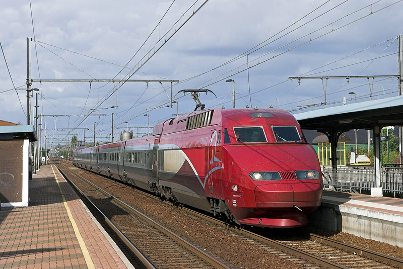 4536 Kontich 7/10/2011<br /> THA9338 1316 Amsterdaam Centraal-Paris Nord