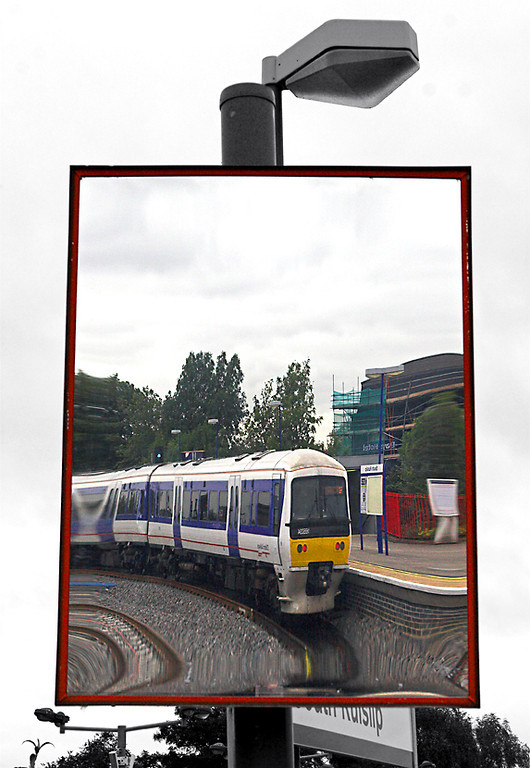 Reflection of 165034, South Ruislip 8/9/2011