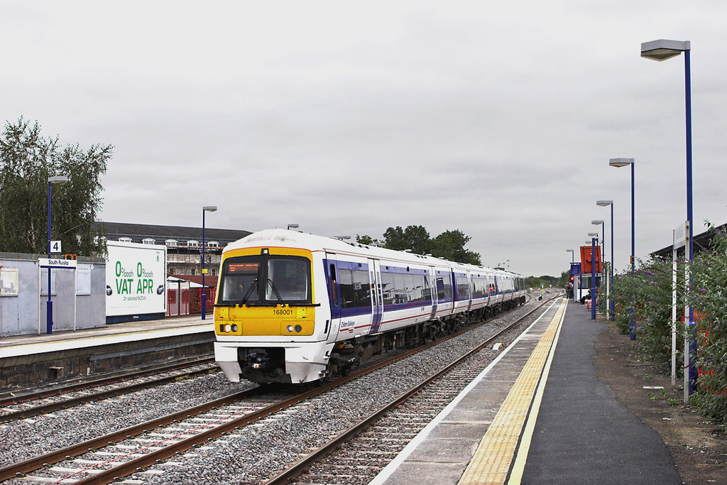 168001 South Ruislip 8/9/2011<br /> 1G28 1207 London Marylebone-Birmingham Snow Hill