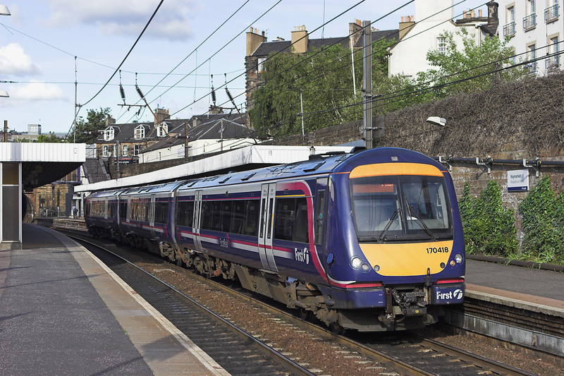 170418 Haymarket 9/6/2011<br /> 1R45 1845 Edinburgh-Glasgow Queen Street