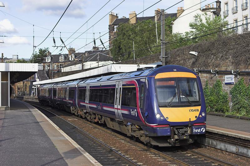 170418 Haymarket 9/6/2011<br /> 1R45 1845 Edinburgh-Glasgow Queen Street