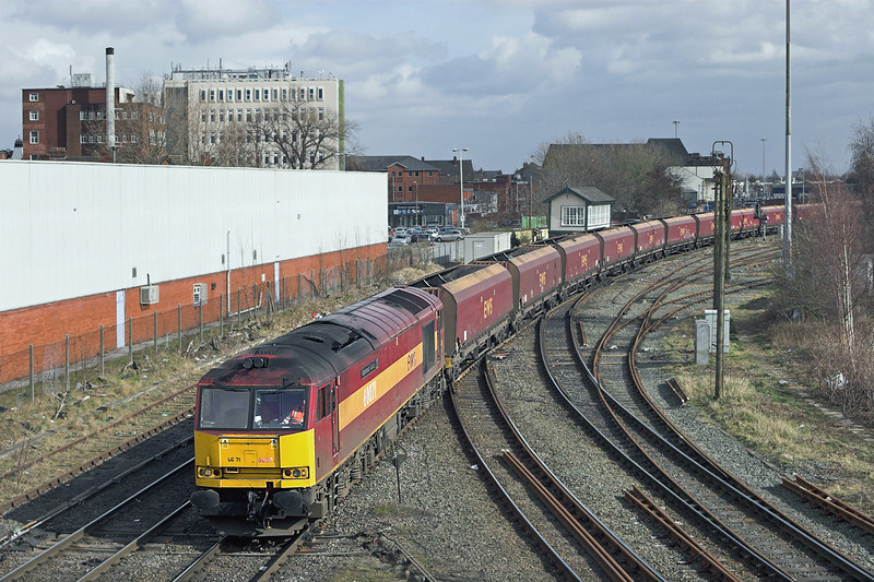60071 Warrington Arpley 10/3/2011<br /> 6F78 1130 Fiddlers Ferry PS-Liverpool Bulk Terminal