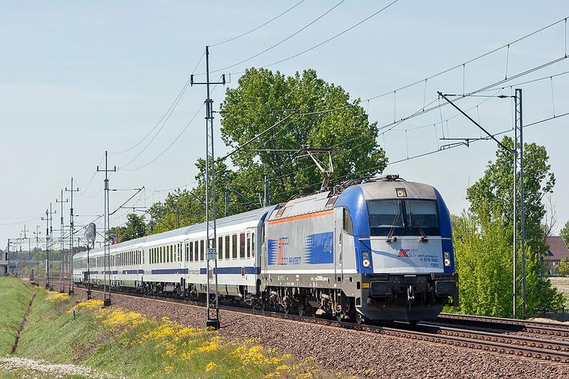 370002 Dopiewo 10/5/2011<br /> EC43 0940 Berlin Hbf-Warstawa Wschodnia