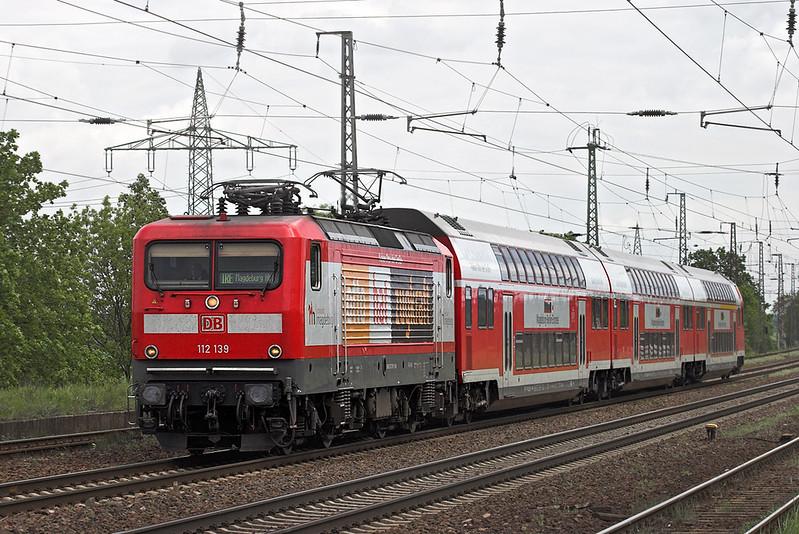 112139 Saarmund 13/5/2011<br /> IRE4276 1259 Berlin Gesundbrunnen-Magdeburg Hbf