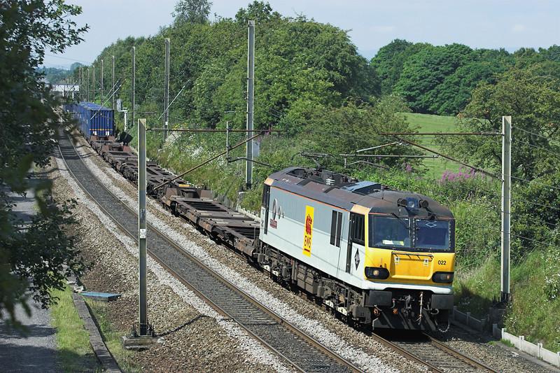 92022 Charnock Richard 14/7/2011<br /> 4M63 0900 Mossend-Hams Hall