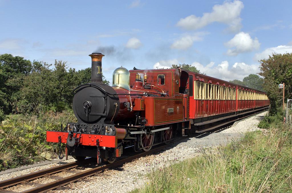13 'Kissack', Ronaldsway Halt 14/8/2011<br /> 1350 Douglas-Port Erin