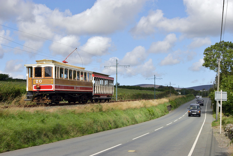 20 and 41, Ballabeg 15/8/2011<br /> 1255 Laxey-Douglas