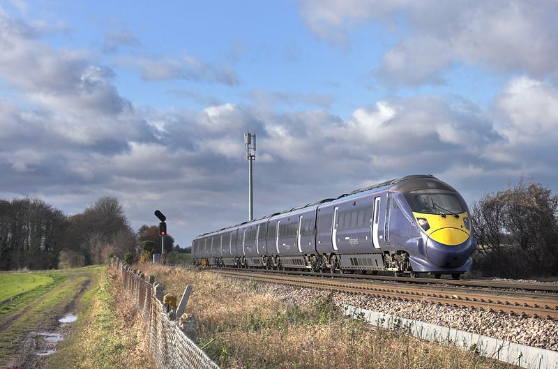 395002 Minster East Junction 15/12/2011<br /> 1J28 1142 London St Pancras International-Margate
