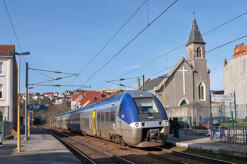 B82625 Boulogne Tintelleries 16/2/2011<br /> 842655 1433 Calais Ville-Boulogne Ville