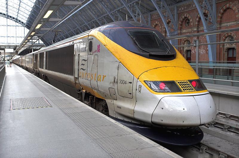 3004 London St Pancras 16/2/2011<br /> 9O24 1228 London St Pancras International-Paris Nord