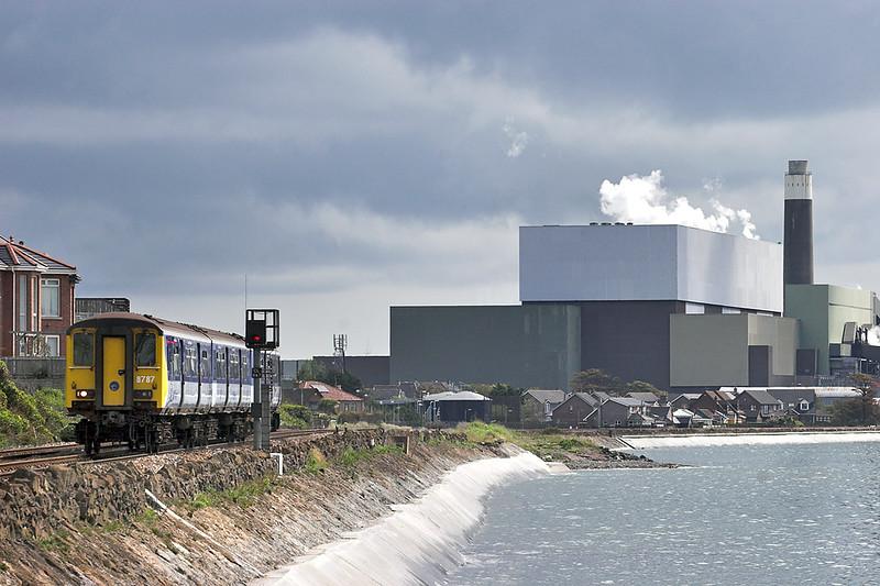 8787 Devonshire 16/6/2011<br /> 0957 Larne Harbour-Belfast Central