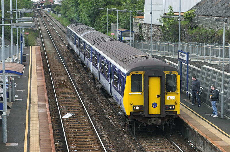 8785 Clipperstown 16/6/2011<br /> 1100 Carrickfergus-Belfast Central