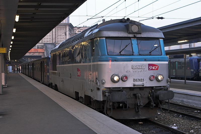 567451 Amiens 17/2/2011<br /> 848710 0813 Amiens-Criel