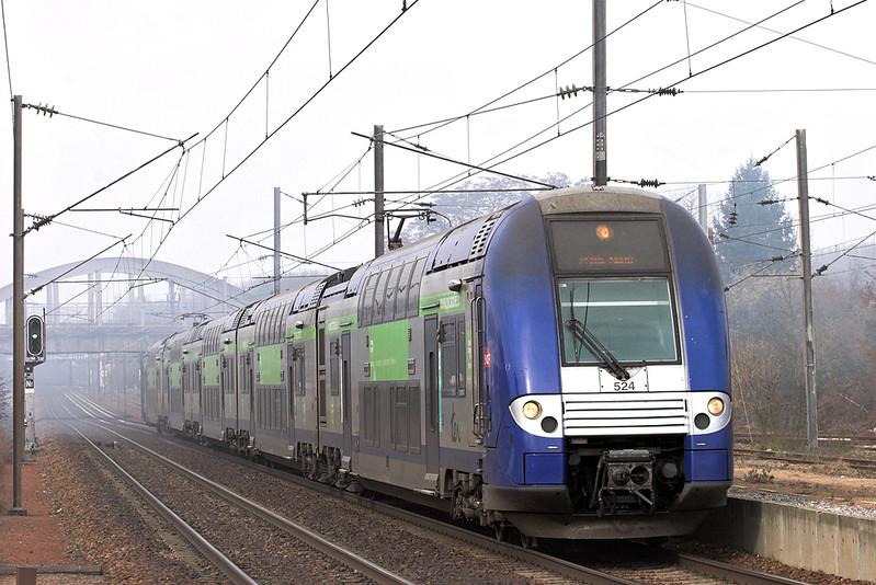 524 Claremont de L'oise 17/2/2011<br /> 848564 1105 Amiens-Paris Nord